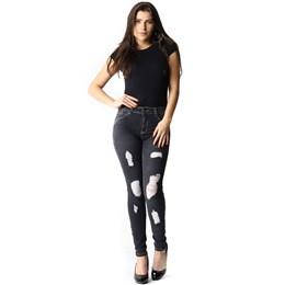 Calça Jeans Feminina Cigarrete Up  253318  Grade com 10 peças