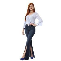 Calça Jeans Feminina Flare  254344  Grade com 11 peças
