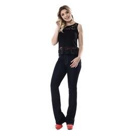 Calça Jeans Feminina Flare  254801  Grade com 09 peças