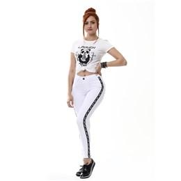 Calça Jeans Feminina Cigarrete  254974  Grade com 12 peças