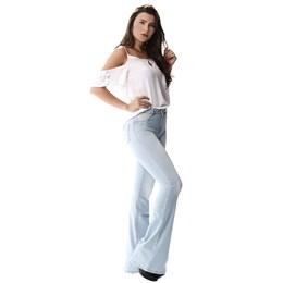 Calça Jeans Feminina Flare  255451  Grade com 11 peças