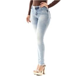 Calça Jeans Feminina Cigarrete Push Up  255549  Grade com 12 peças