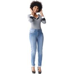 Calça Jeans Feminina Cigarrete Levanta Bumbum  256166  Grade com 11 peças