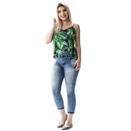 Calça Jeans Feminina Cropped Heart  256293  Grade com 12 peças