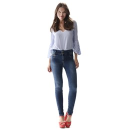 Calça Jeans Feminina Legging   256868  Grade com 12 peças