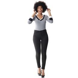 Calça Jeans Feminina Cigarrete  Up Mescla 256917  Grade com 12 peças