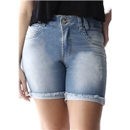 Bermuda Jeans Feminina Intermediaria  256925  Grade com 11 peças