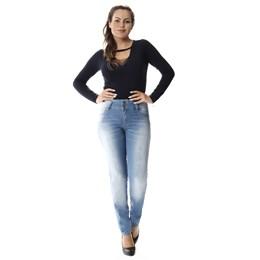 Calça Jeans Feminina Cigarrete Modela Bumbum  257026  Grade com 12 peças