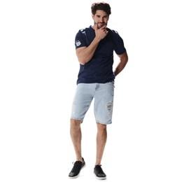 Bermuda Jeans Masculina  257101  Grade com 12 peças