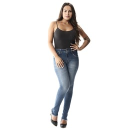 Calça Jeans Feminina Cigarrete   257274  Grade com 12 peças