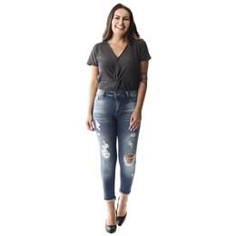 Calça Jeans Feminina Cigarrete   257304  Grade com 12 peças