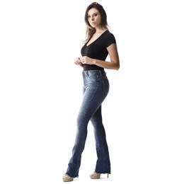Calça Jeans Feminina Flare Push Up  257310  Grade com 12 peças