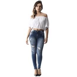 Calça Jeans Feminina Intermediaria  257319  Grade com 11 Peças