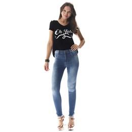 Calça Jeans Feminina Cigarrete   257391  Grade com 12 peças