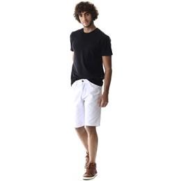 Bermuda Jeans Masculina Branca  257393  Grade com 12 peças