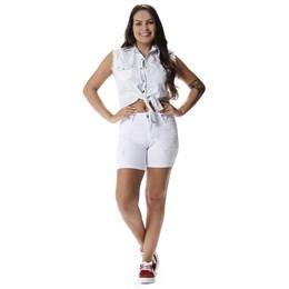Bermuda Jeans Feminino Intermediaria  257468  Grade com 11 peças