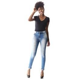 Calça Jeans Feminina Cigarrete Push Up  257527  Grade com 12 peças