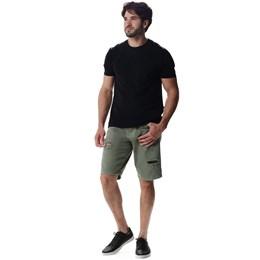 Bermuda Sarja Verde Masculino  257665  Grade com 12 Peças