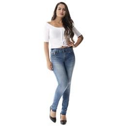 Calça Jeans Feminina Cigarrete Levanta Bumbum  257805  Grade com 11 peças