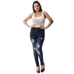 Calça Jeans Feminina Cigarrete Up  257852  Grade com 12 peças Calça Jeans Feminina Cigarrete Hot Pants  257852  Grade com 12 peças