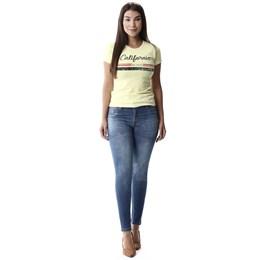 Calça Jeans Feminina Intermediaria  257974  Grade com 11 peças