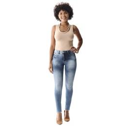 Calça Jeans Feminina Cigarrete Up  257991  Grade com 12 peças Calça Jeans Feminina Cigarrete Push Up  257991  Grade com 12 peças