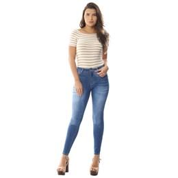 Calça Jeans Feminina Cigarrete   258072  Grade com 12 peças