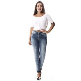 Calça Jeans Feminina Cigarrete   258085  Grade com 12 peças