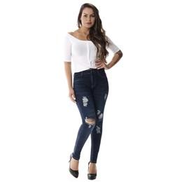 Calça Jeans Feminina Cigarrete   258088  Grade com 12 peças