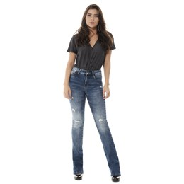 Calça Jeans Feminina Flare    258371  Grade com 12 peças