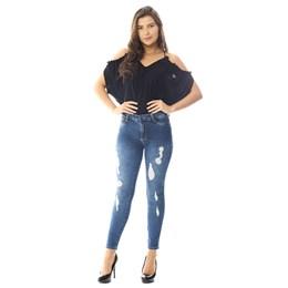 Calça Jeans Feminina Cigarrete Heart  258487  Grade com 12 peças