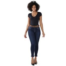 Calça Jeans Feminina Cigarrete Levanta Bumbum   258689  Grade com 11 peças