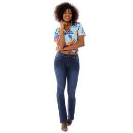 Calça Jeans Feminina Flare  258691  Grade com 12 peças