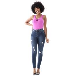 Calça Jeans Feminina Compressora    258701  Grade com 12 peças