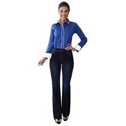 Calça Jeans Feminina Flare   258786  Grade com 12 peças