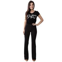 Calça Jeans Feminina Flare Boot Cut   259136  Grade com 12 peças