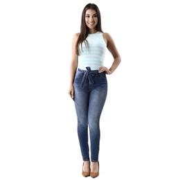Calça Jeans Feminina Cigarrete Azul 259796  Grade com 10 peças Calça Jeans Feminina Cigarrete Azul  259796  Grade com 10 peças