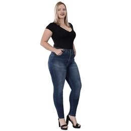 Calça Jeans Feminina Cigarrete Plus Size  259844  Grade com 9 peças