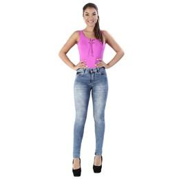 Calça Jeans Feminina Cigarrete   260138  Grade com 12 peças