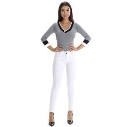 Calça Jeans Feminina Cigarrete  260180  Grade com 11 peças