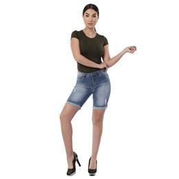 Bermuda Jeans Feminina - 261734 - Grade com 13 peças